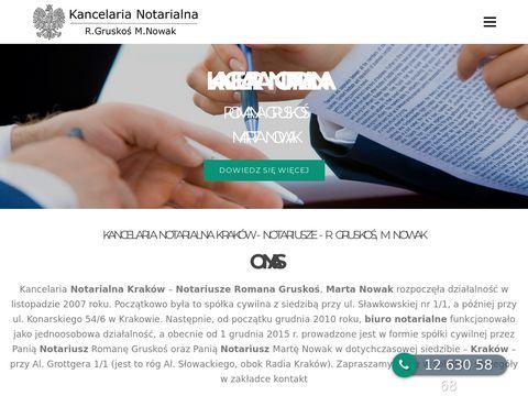 Krakownotariusz.com.pl
