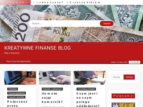 Kreatywne-finanse.pl blog