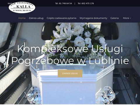 Kalla obsługa pogrzebów Lublin