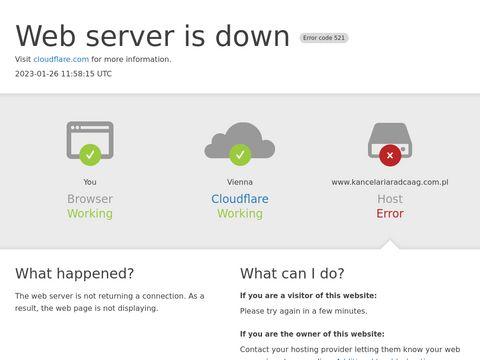 Kancelariaradcaag.com.pl radca prawny Wrocław