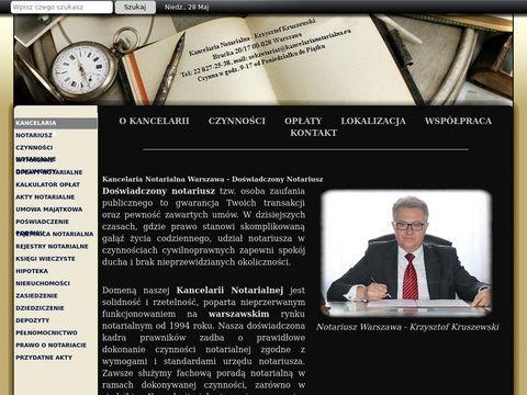 Kancelarianotarialna.eu Warszawa notariusz