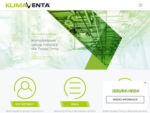 Klima Venta projekt wentylacji Wrocław