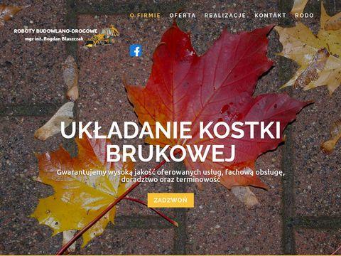 Bogdan Błaszczak roboty ziemne Warszawa