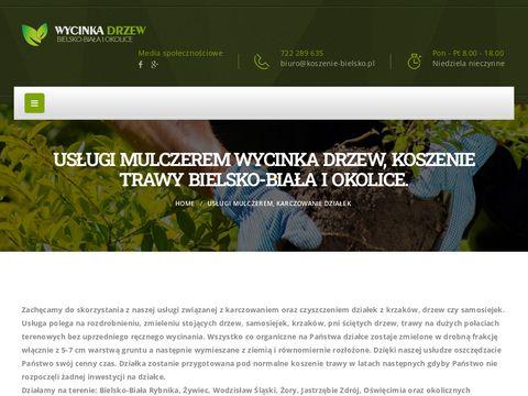 Koszenie-bielsko.pl wycinanie drzew rębak