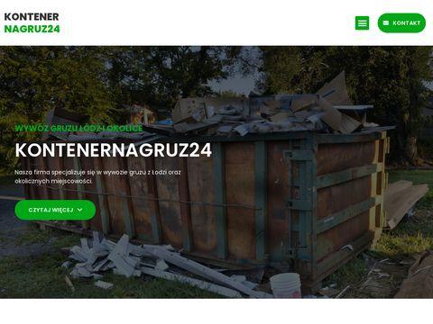 SAWO Recykling kontenery na gruz Aleksandrów