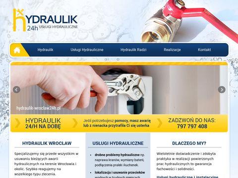 Hydraulik-wroclaw24h.pl instalacje hydrauliczne
