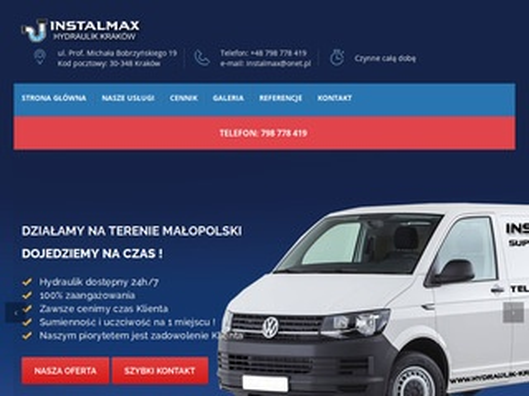Hydraulik-krakow.com.pl usługi hydrauliczne