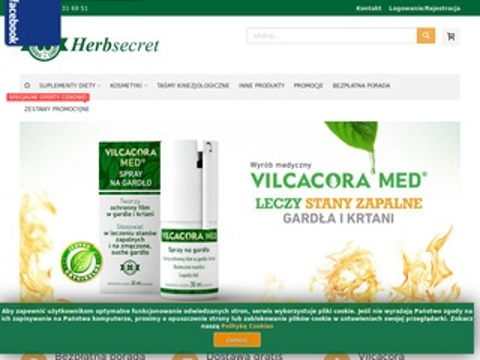 Herbsecret.pl - taśmy kinezjologiczne