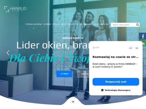 Hanbud.com.pl bramy garażowe w Krakowie