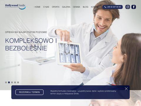 Hollywoodsmile.com.pl ortodonta Pabianice