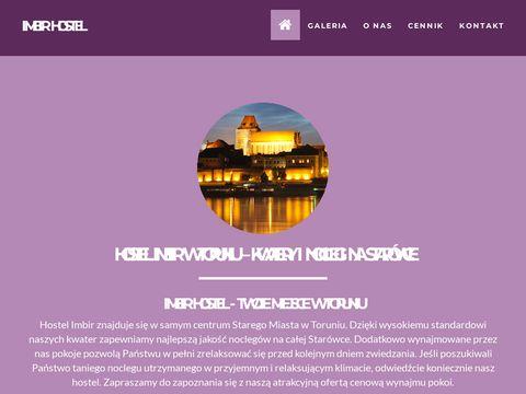 Imbirhostel.pl tani nocleg Toruń