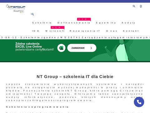 NT Group audyt legalności oprogramowania