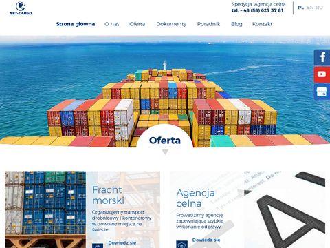 Net-Cargo transport kontenerowy z Chin