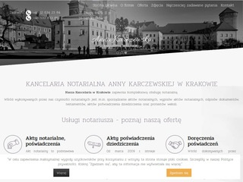 Anna Karczewska protesty weksli Kraków