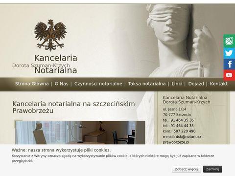 Dorota Szuman-Krzych Kancelaria Notarialna