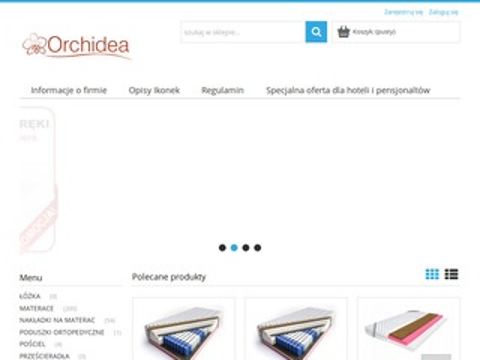 Orchidea-Materace do łóżka, sklep internetowy
