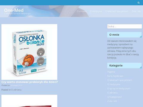 One-Med NZOZ specjalistyczny gabinet lekarski
