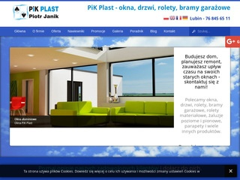 PiK Plast okna Lubin
