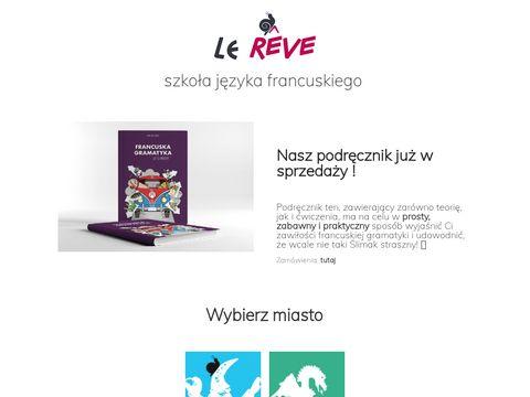 Lereve.pl Franczyza szkoła językowa