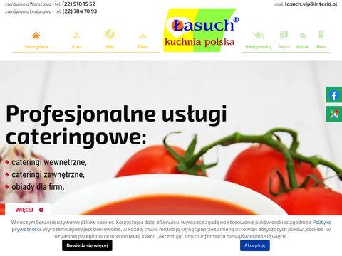 Łasuch obiady domowe Tarchomin