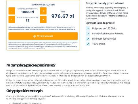 Latwykredyt.pl chwilówka pierwsza za darmo