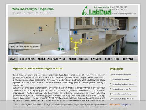 Labdud.pl dygestorium, meble laboratoryjne