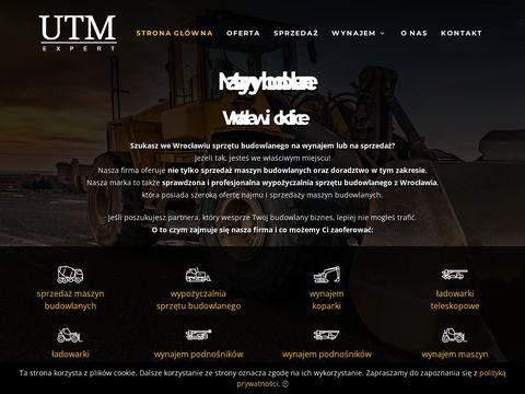Ladowarkiteleskopoweobrotowe.pl wynajem maszyn