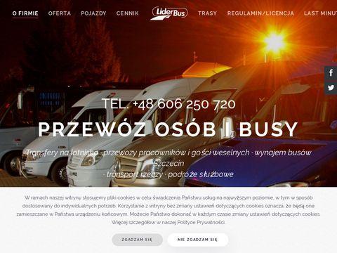 LiderBus firma przewozowa Szczecin