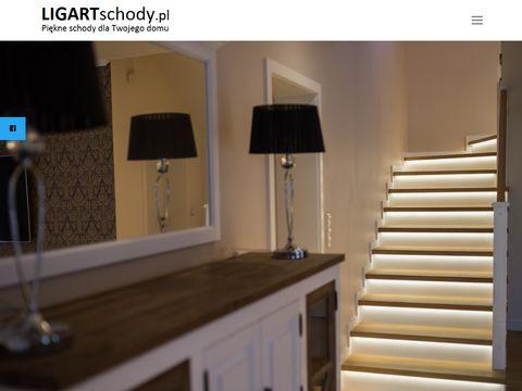 Ligart schody drewniane