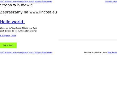 LinCost biuro rachunkowe Bydgoszcz