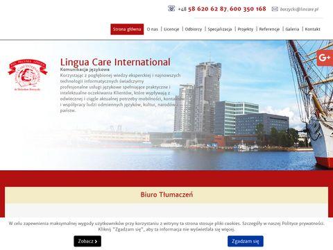 Lincare.pl angielski