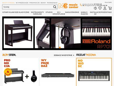 Musiccenter.com.pl - internetowy sklep muzyczny