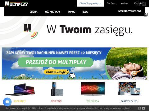 Multiplay internet dla firm lewin brzeski