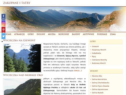 Co warto zobaczyć w Zakopanem i Tatrach