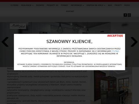 Meblegal.com.pl kuchenne do zabudowy Będzin