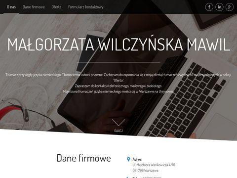 Mawil tłumacz przysięgły niemiecki