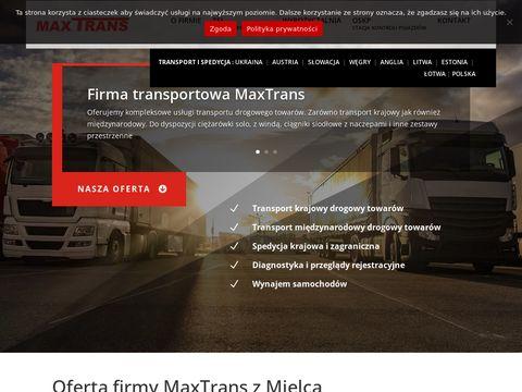 Maxtrans.com.pl wypożyczalnia samochodów Mielec