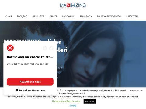 Maximizing.com.pl angielski biznesowy Warszawa