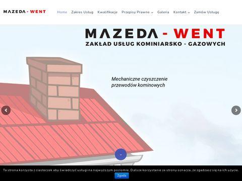 Mazeda-Went kominiarz Poznań