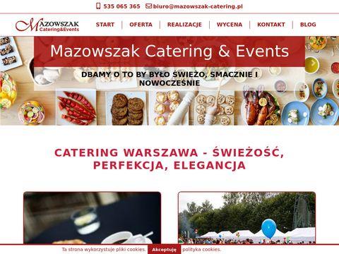 Mazowszak Catering Warszawa
