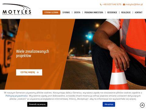 Motyles projekty dróg
