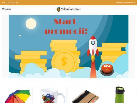 Miliongadzetow.pl reklamowych dla firm z logo