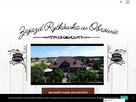 Rytkówka restauracja pod Toruniem