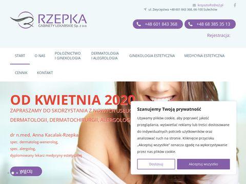 Rzepka.lek-med.pl gabinet ginekologiczny