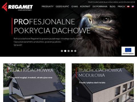 Regamet.com.pl nowoczesne pokrycia dachowe
