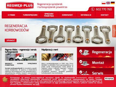 Regmex-Plus naprawa korbowodów Mielec