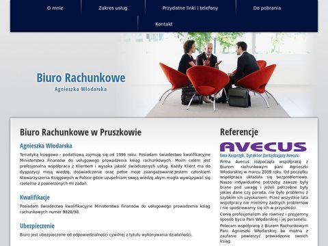 Biuro Rachunkowe Agnieszka Włodarska w Pruszkowie