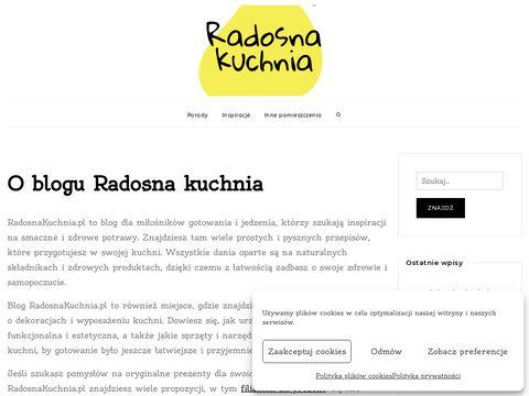 Radosnakuchnia.pl talerze dla dzieci