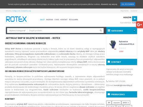 Rotex spodnie robocze