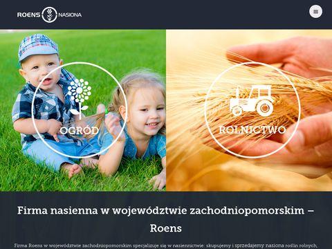 Roens-nasiona.pl mieszanki traw zachodniopomorskie